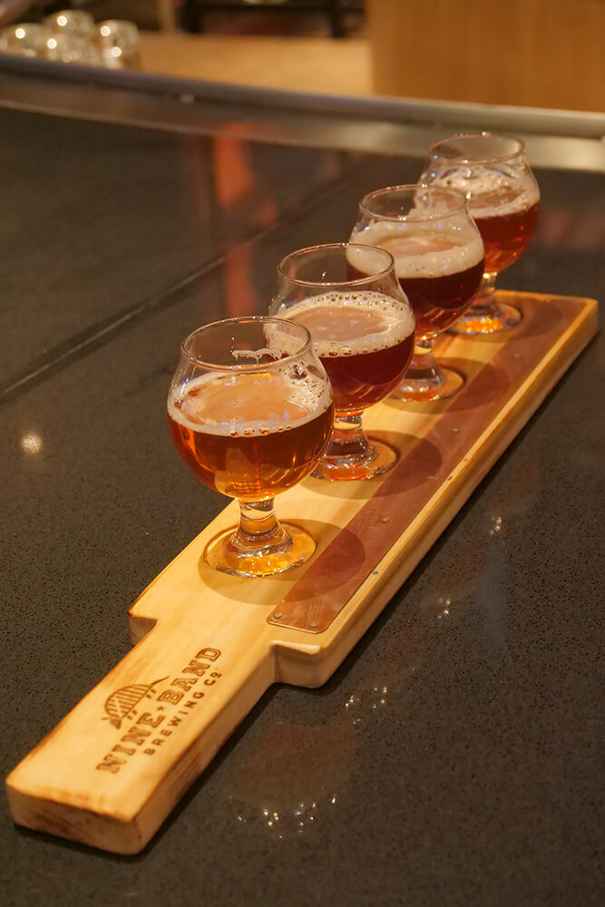 If you're someone who enjoys a trip to the casino along with your beer wanderings, then Nine Band Brewing Co. in the heart of the Osage Casino is for you. (Photo: Marc Rains)