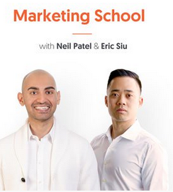 Marketing School, Marketing, Podcast, marketing tips, 6 minute podcast, fast podcast, us industry, top of mind, brand