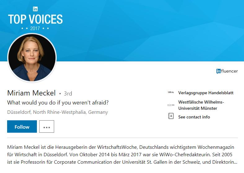 LinkedIn, Social Media, positioning