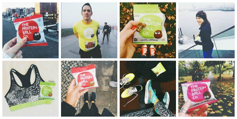 Instagram Protein Balls and running