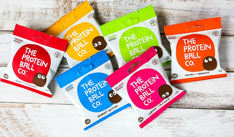 The Protein Ball Co packets