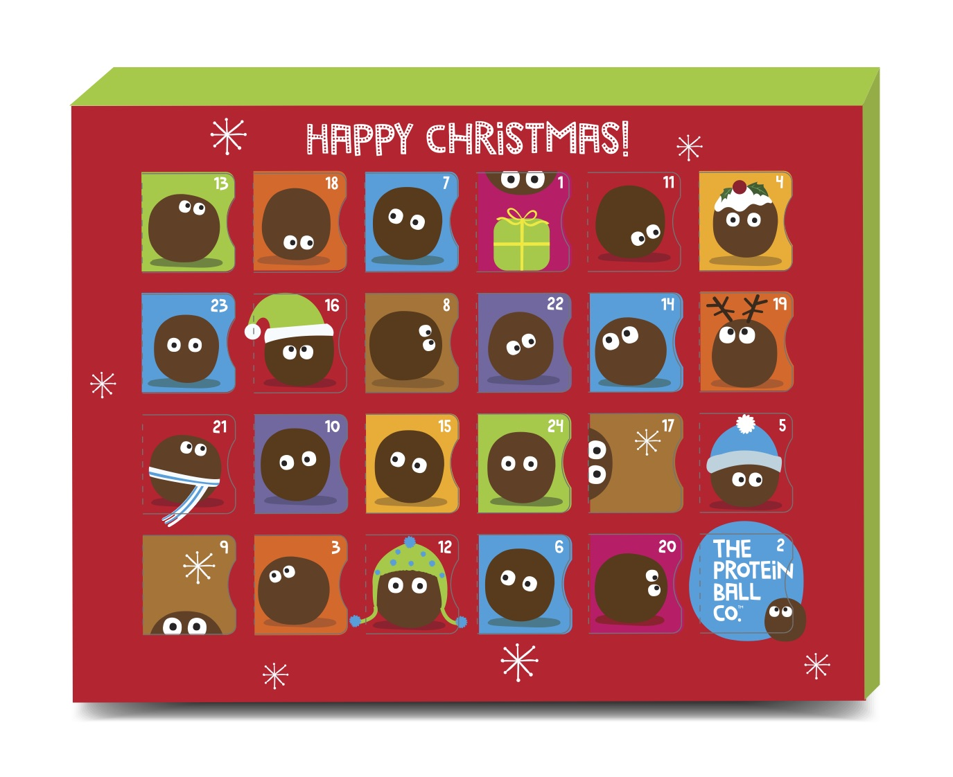 The Protein Ball Co Advent Calendar