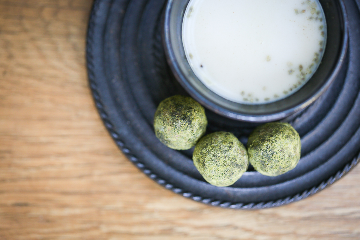 Matcha Green Tea Protein Ball Recipe