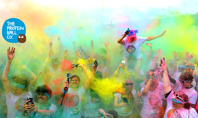 The Protein Ball Co at Color Run London