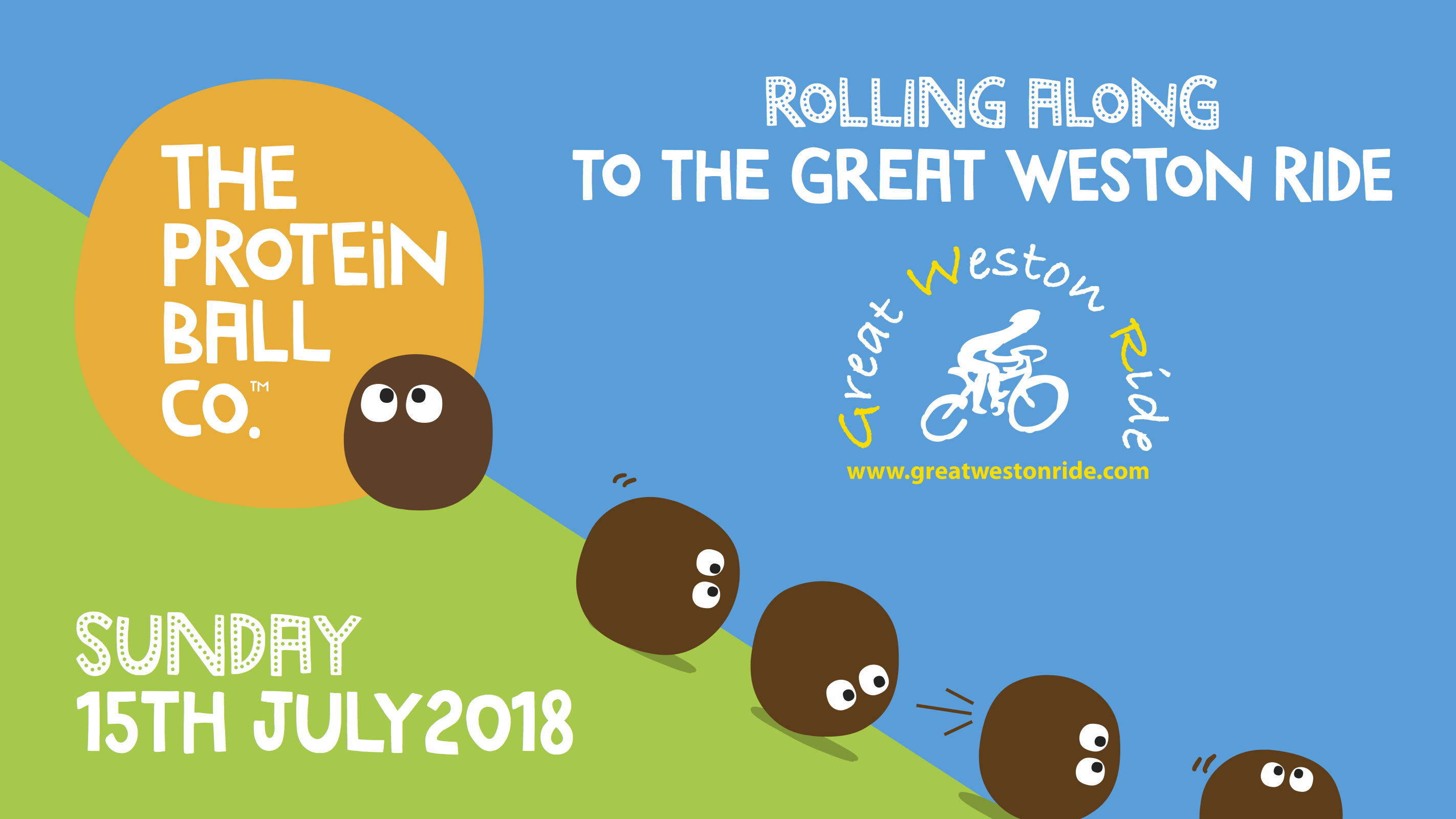 Rolling At The Great Weston Ride