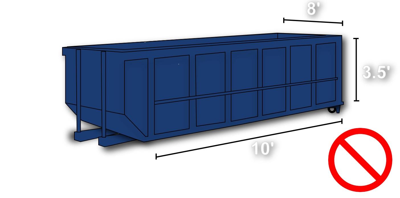 Dumpster yard 10X8