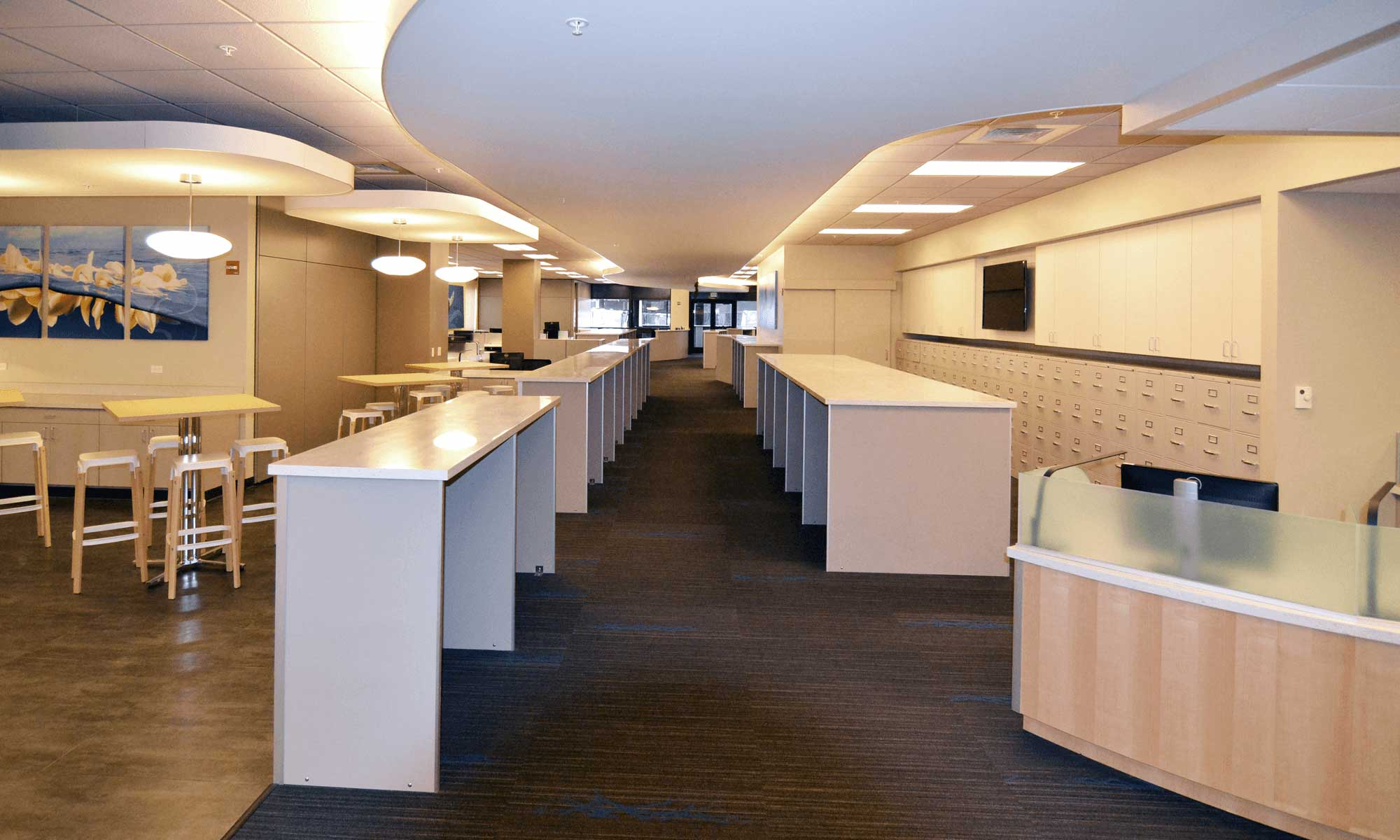 Hawaiian Airlines Crew Center Architecture Interior Design And Layout