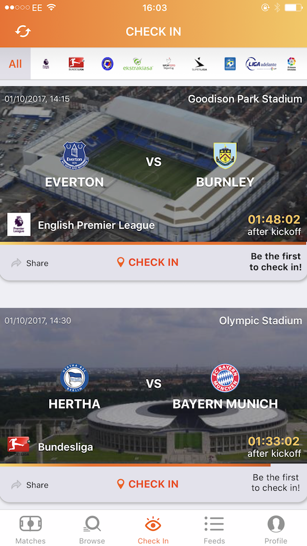 all check in screen top soccer fan ordia creative