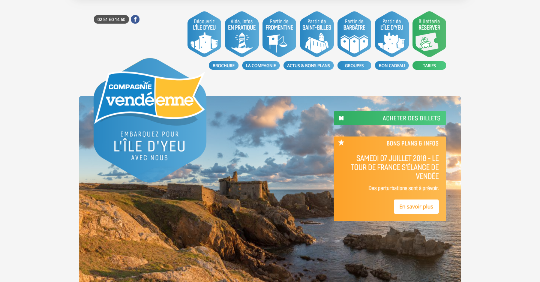 Compagnie Vendeenne homepage