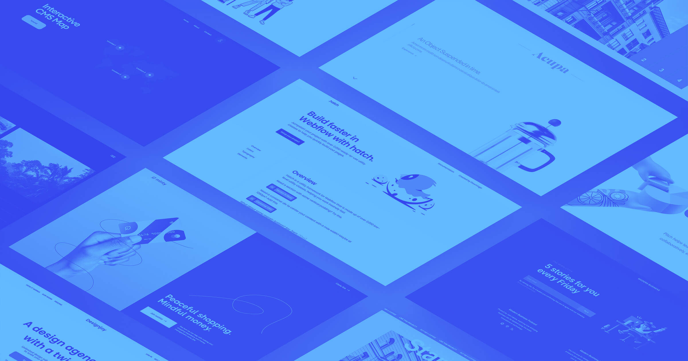 Our 10 favorite Webflow cloneables from Fall 2020