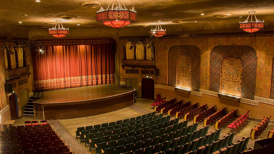 Image from balcony at The Panida Theater © 2014 AllerGale Design