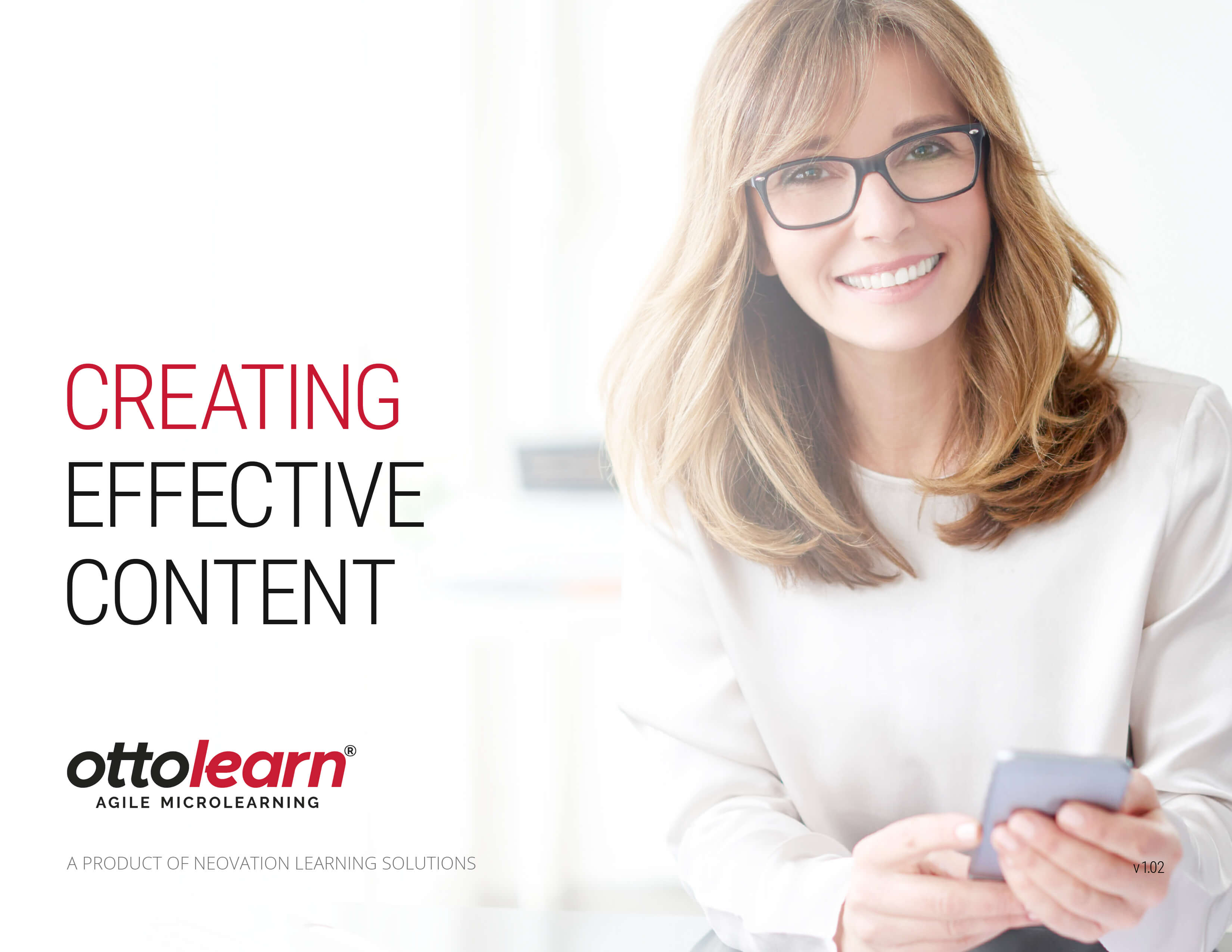 Creating Effective Content Cover - OttoLearn Agile Microlearning