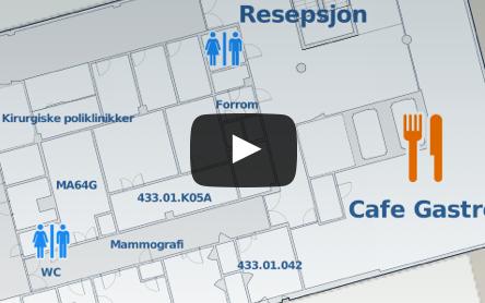 MazeMap Indoor Maps and Wayfinding