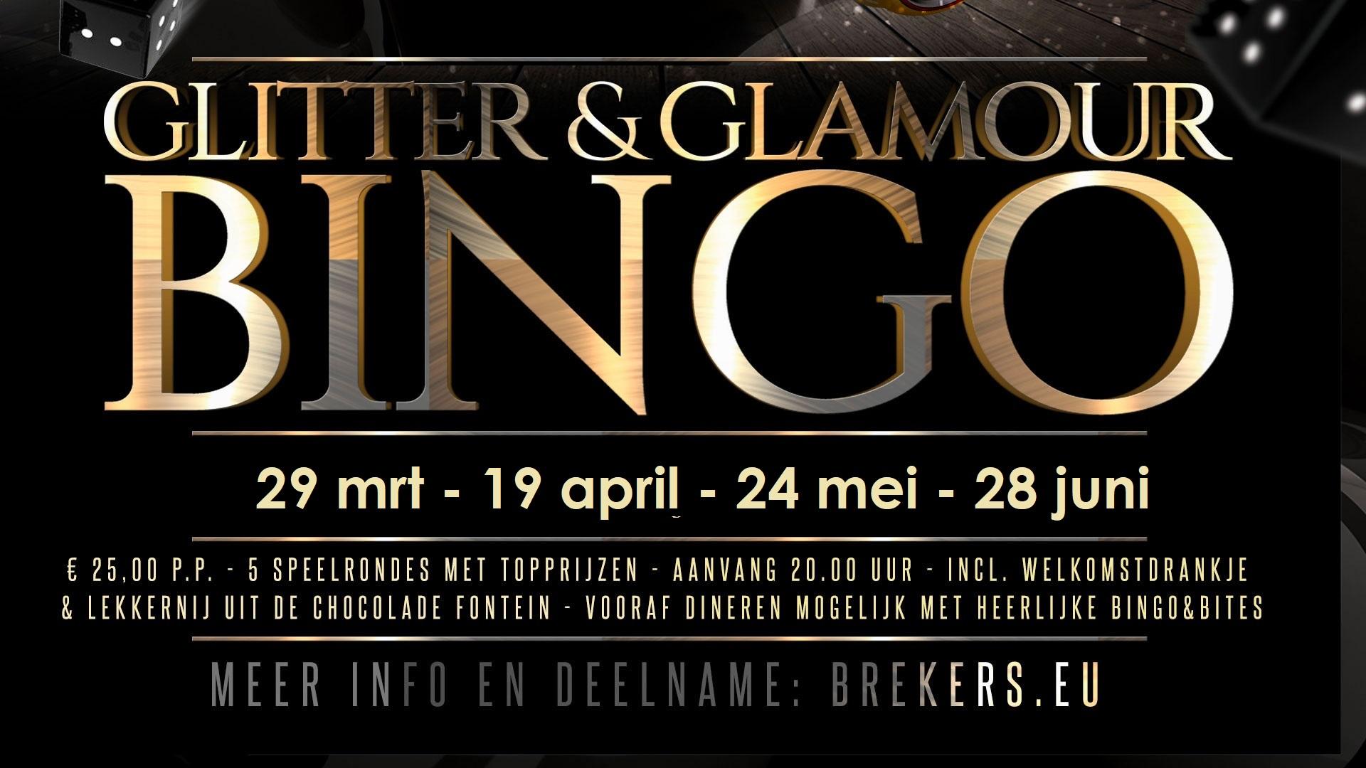 Glitter & Glamour Bingo 24 mei