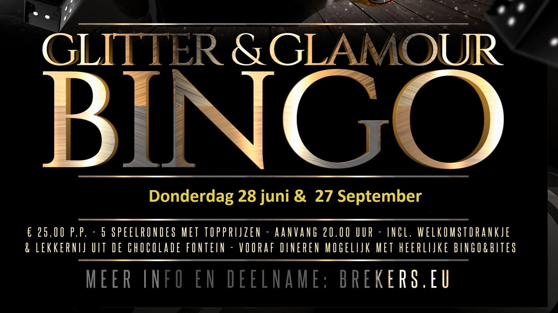 Glitter & Glamour Bingo 28 juni