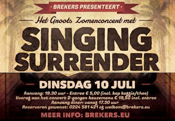 Singing Surrender Concert