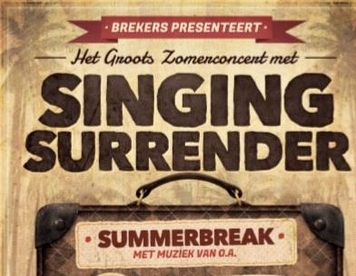 10 juli Zomer Concert Singing Surrender