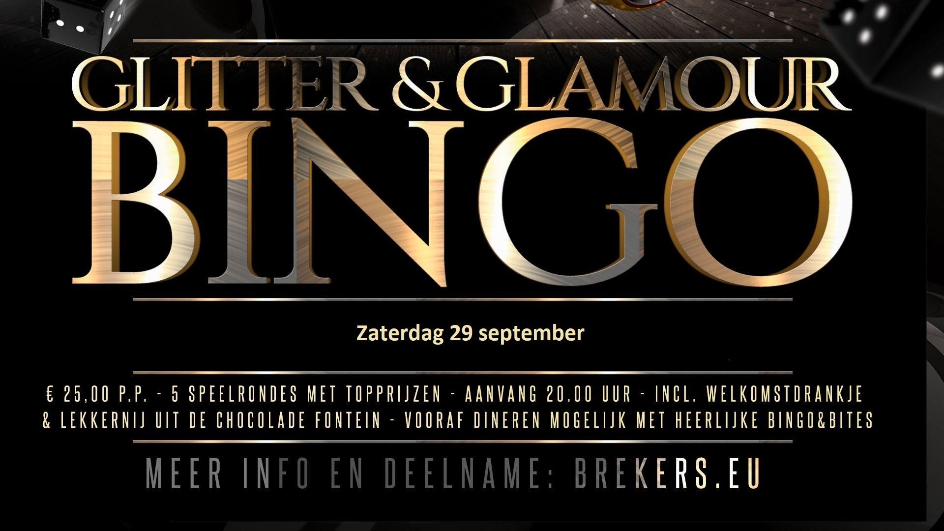 Glitter & Glamour Bingo 29 september