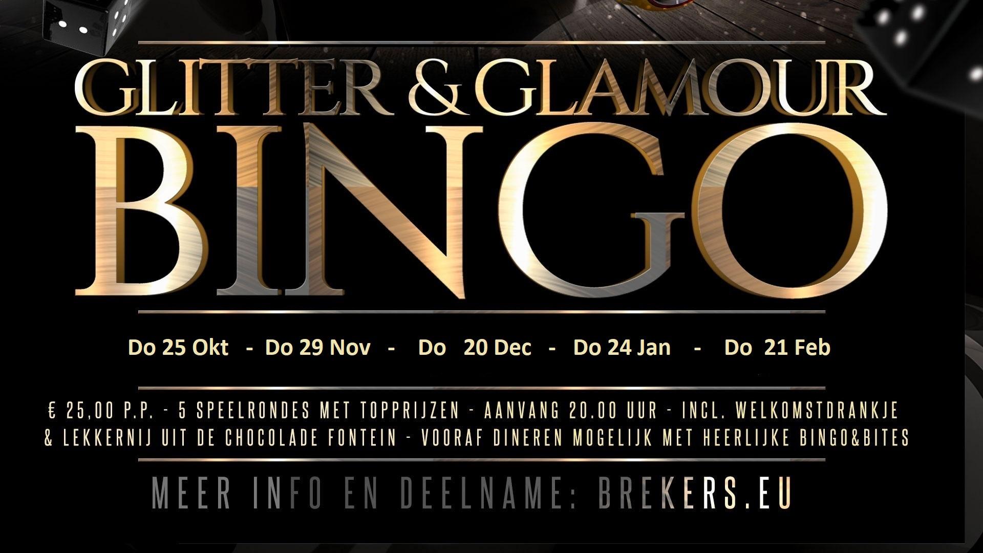 Glitter & Glamour Bingo 24 januari