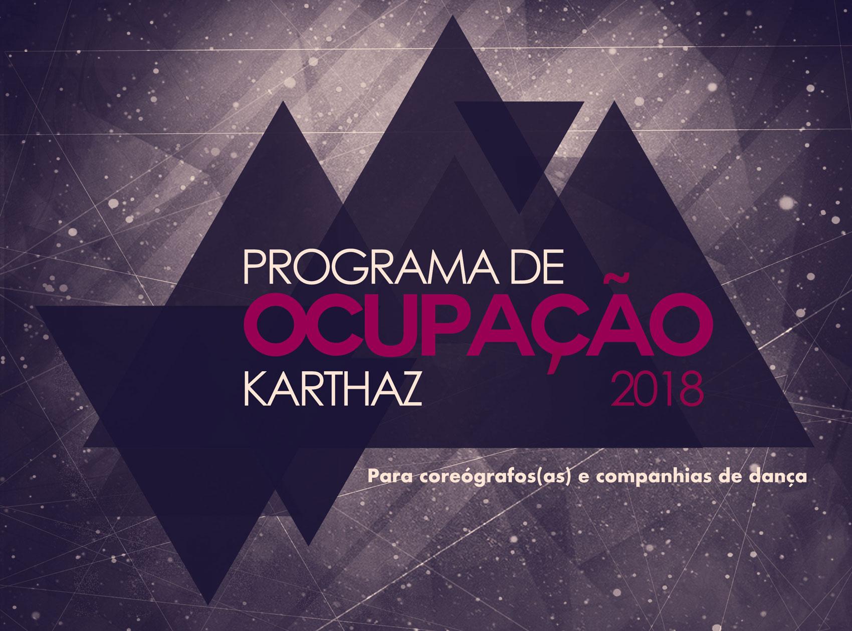 Karthaz Studio anuncia Convocatória para o  Programa de Ocupação Karthaz 2018