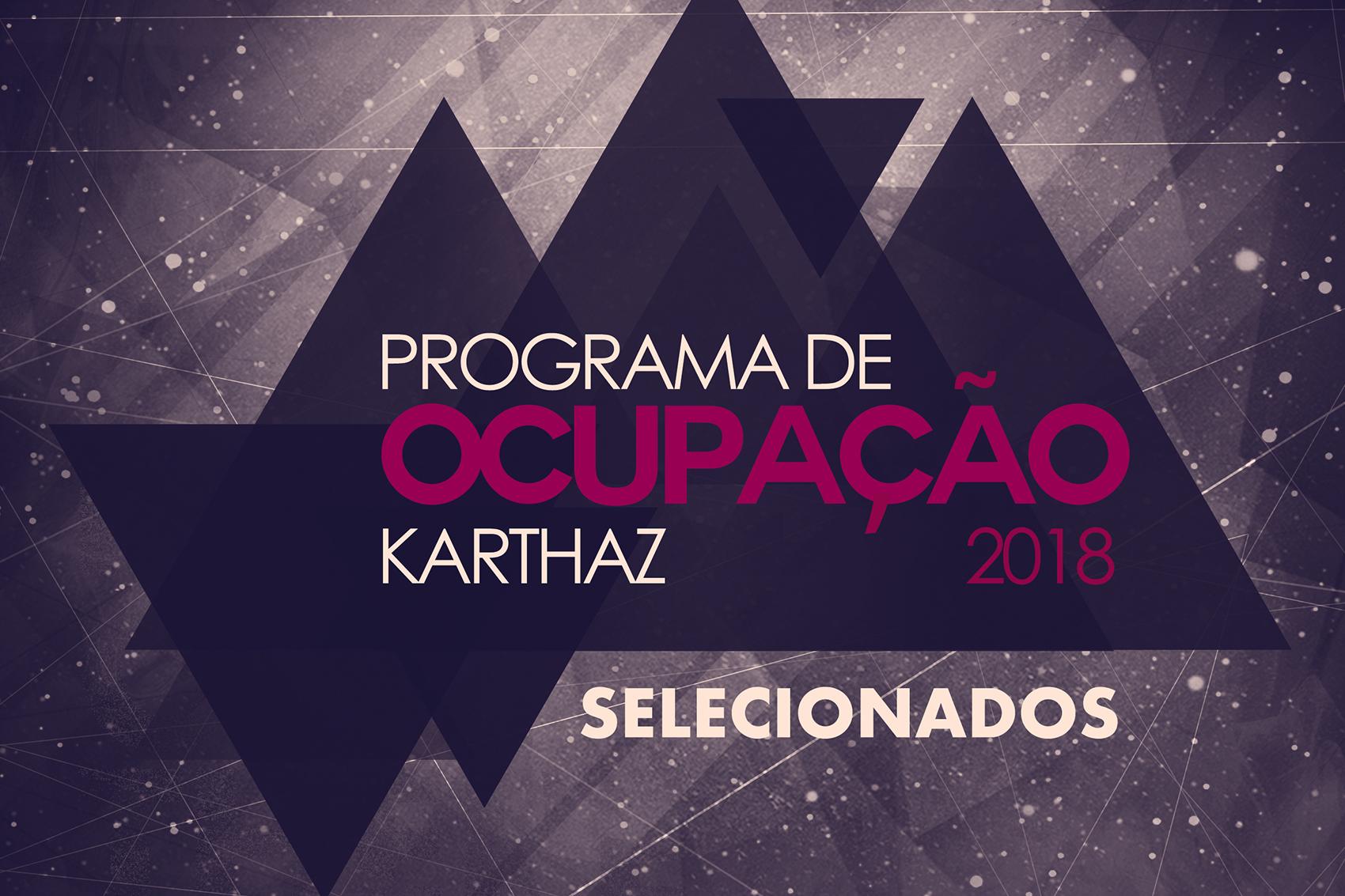 Karthaz Studio anuncia selecionados