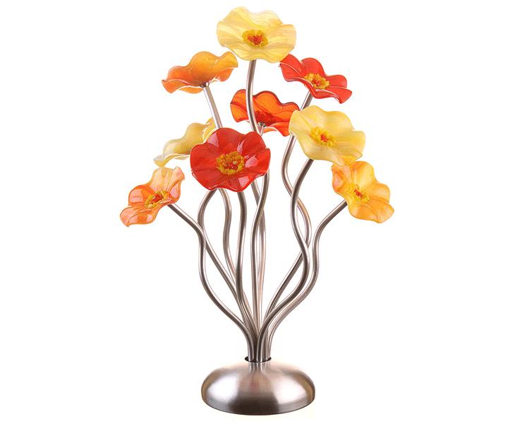9 Flower Sunburst