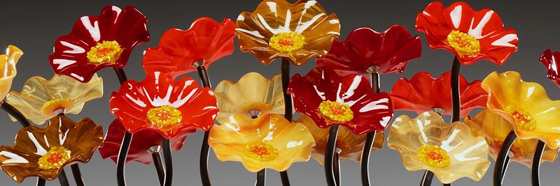 tuscany 130 - Glass Flowers