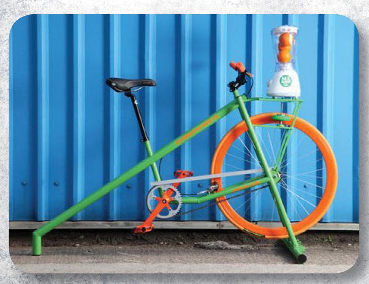 A smoothie-making bike!