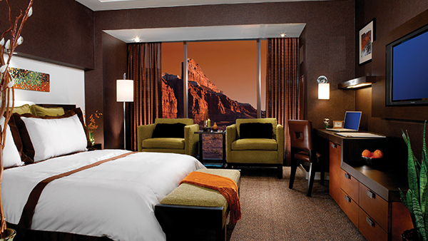 Luxurious Accommodations at Red Rock