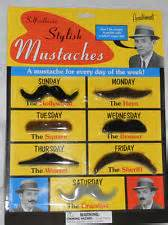 Stylish Mustaches - Self Adhesive