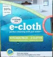 E-cloth Kitchen 2 Pack