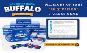 You Gotta Know Buffalo Sports Trivia