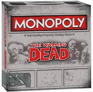 """""""Walking Dead"""" Monopoly"""