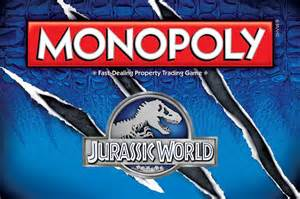 """Jurassic World"" Monopoly"