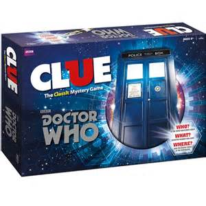 """""""Dr. Who"""" Clue"""