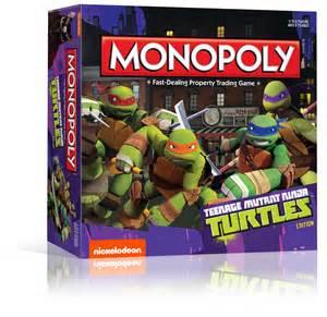 """""""Teenage Mutant Ninja Turtles"""" Monopoly"""