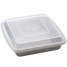 """9"""" Square Covered Brownie Pan"""