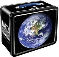 Planet Earth Tin Box