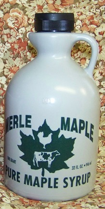 Pure Maple Syrup - Medium Grade 32 Fl. Oz