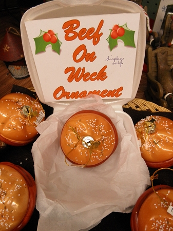Beef On Weck Ornament