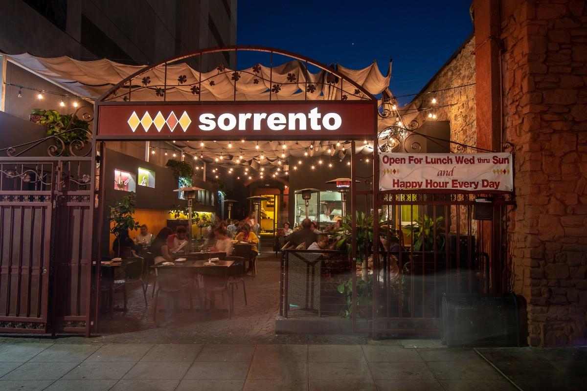 Sorrento San Diego S Finest Italian Restaurant Home