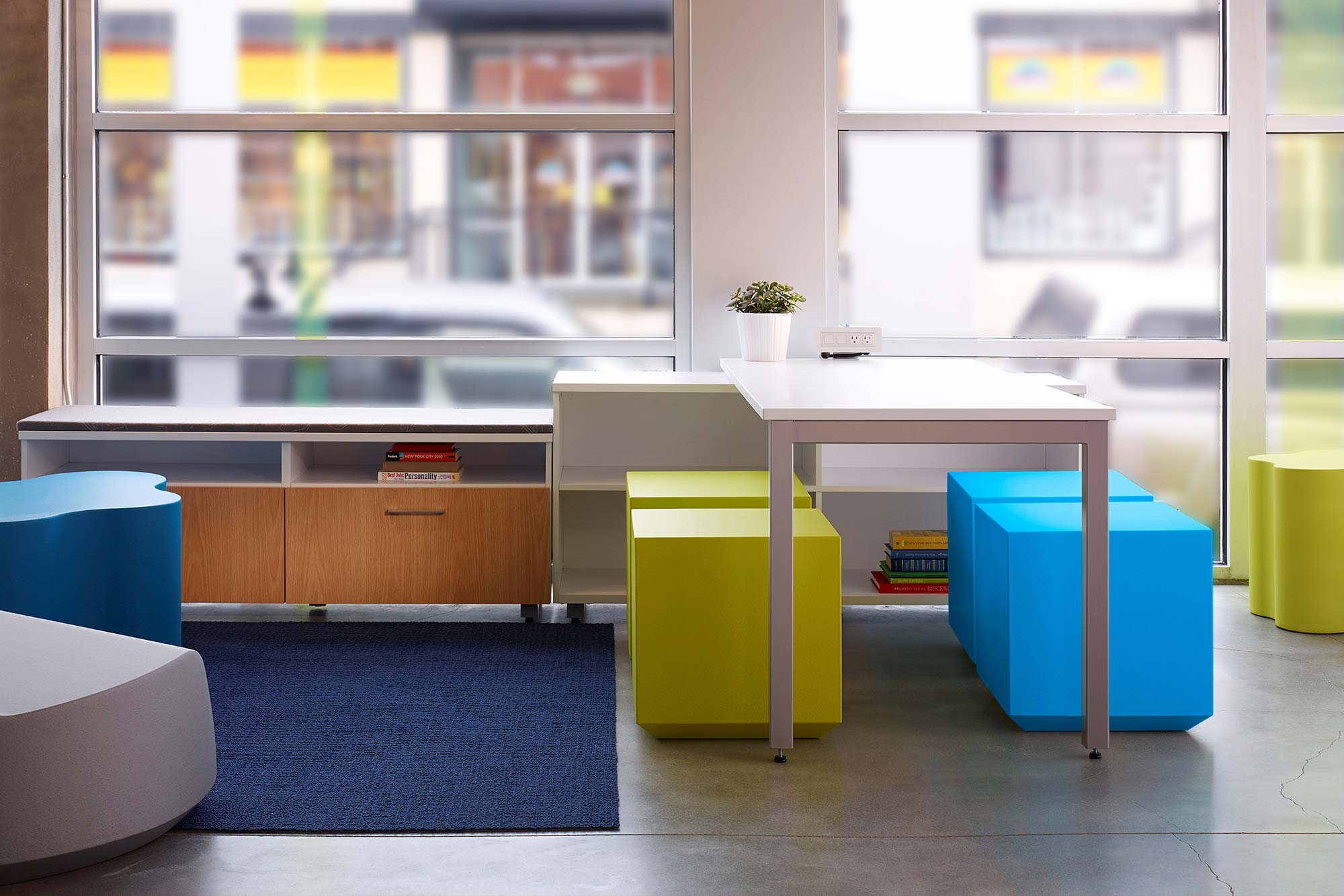 Today's work environment demands offices and workstations that are flexible, modular and wired to facilitate open communication and collaboration.