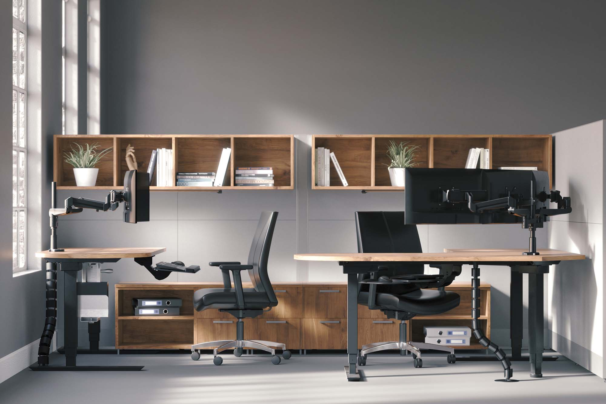 These ergonomic sit-stands get you up and moving so you can be healthier and more productive at work.