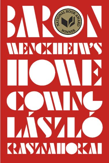 A screenshot of the cover of Baron Wenckheim's Homecoming