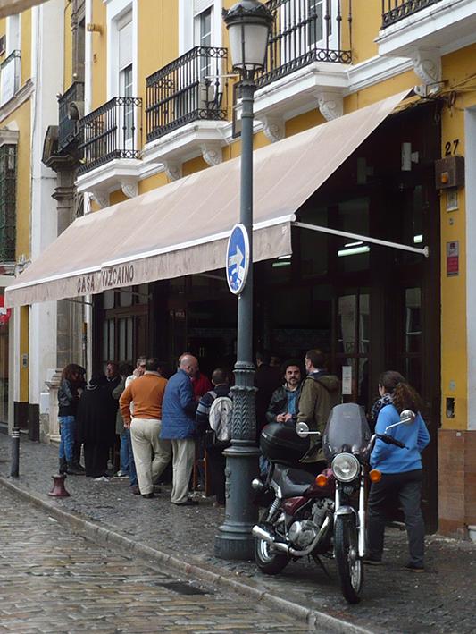 Outside of neighbourhood classic, Casa Vizcaino.