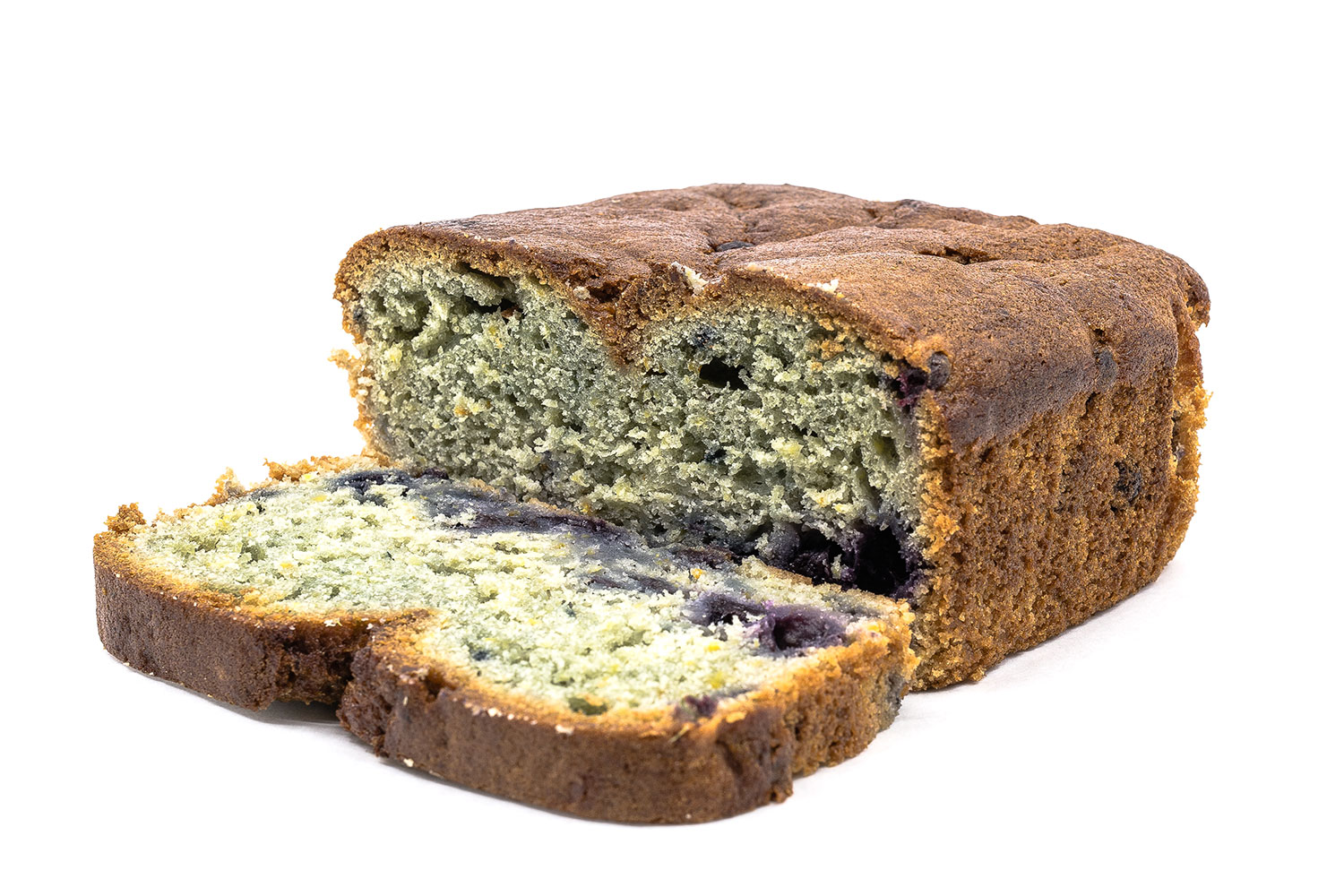 GF Blueberry Orange Juice Bread
