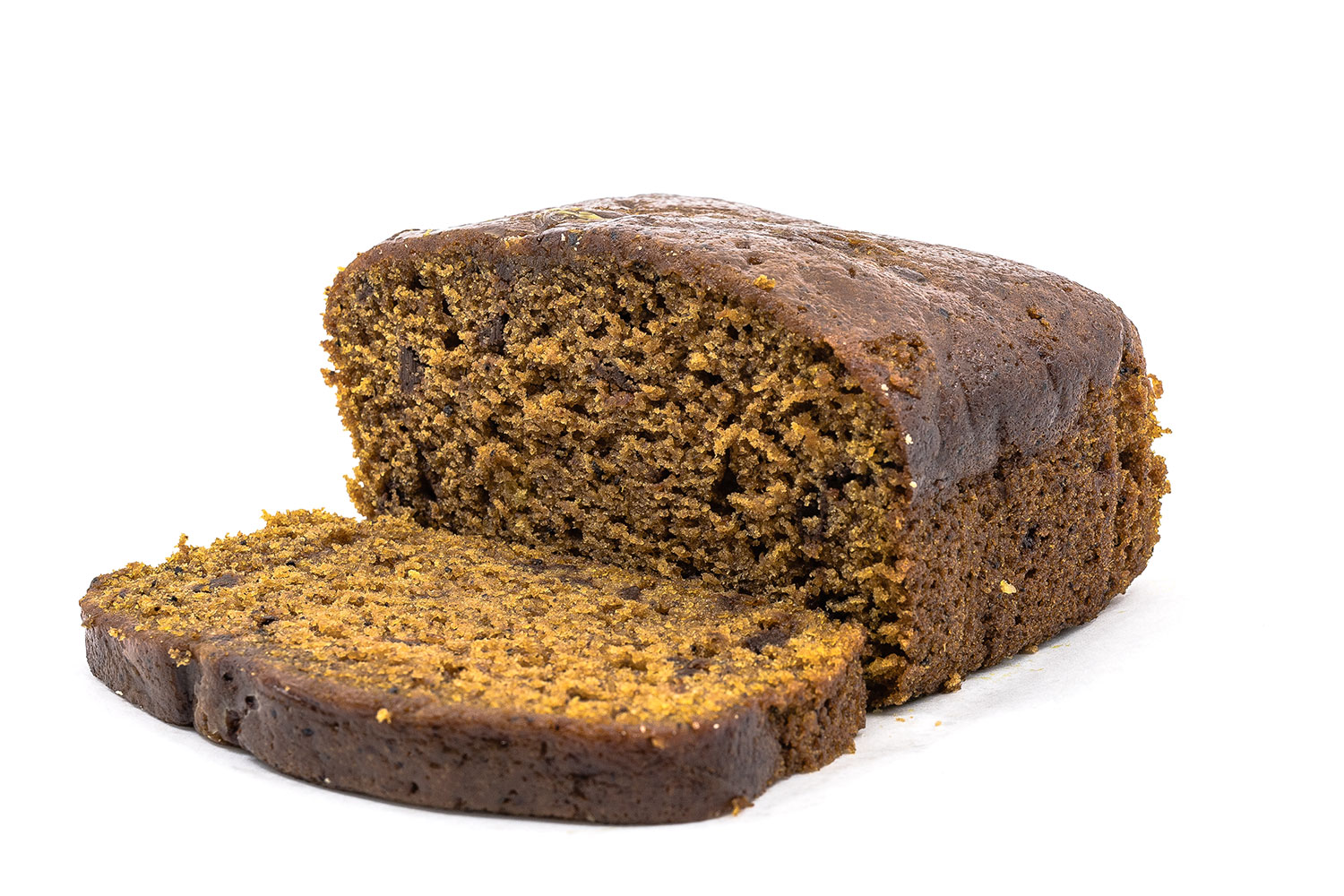 Pumpkin Espresso Chip Bread