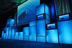 Corporate Meeting Modular Set Design