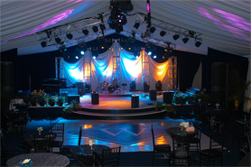 Private Party Custom Stage Design
