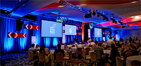 Corporate Meeting Video Wall Design